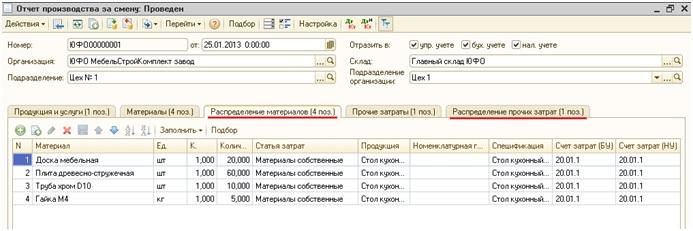 1с упп настройка способов распределения затрат организации установка 1с 8.3 sql